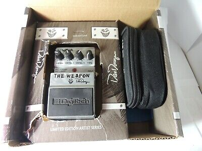 Digitech The Weapon Dan Donegan Signature Multi Effects Pedal Disturbed w/Box