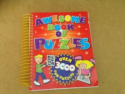 Puzzle book 600 PAGES approx 3000 puzzles Published by Igloo