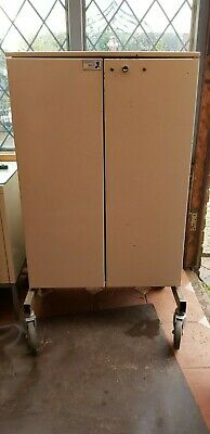 Early English made Bristol Maid wheeled Cabinet -mid 20th century