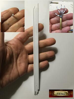 """M00983 MOREZMORE Evergreen Styrene Tubing 3/32"""" 2.4mm for HPA Hand Armature"""