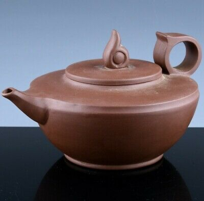 Fine Old Chinese Yixing Zisha Clay Wine Pot Teapot Seal Mark