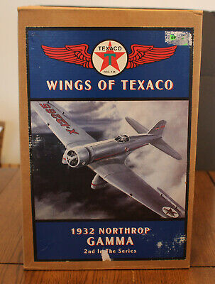 "Texaco Airplane Bank; Ertl; ""1932 Northrop Gamma 2A"""