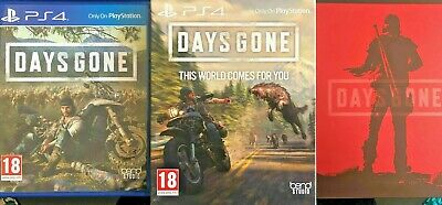 Days Gone Limited Edition Steelbook PS4 Playstation 4