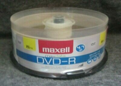 Maxell DVD-R 15 pk.4.7 gb Max data Brand New Unopened! REDUCED!