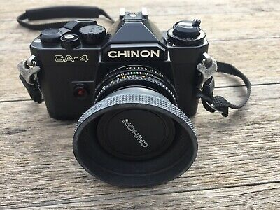 Chinon CA-4 35mm Film Camera With 49mm Lens