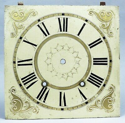 Fine Terry Type Wood Works Clock Dial