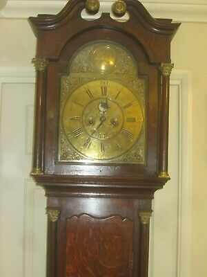 EMPTY LONGCASE CLOCK CASE 13x18