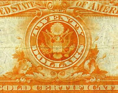 HGR SATURDAY 1922 $20 ((Gold Certificate)) AWESOME GRADE