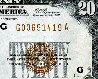 HGR SATURDAY 1929 $20 FRBN ((STUNNING)) Appears GEM UNCIRCULATED