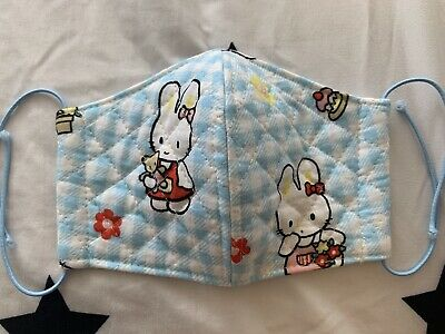 Cathy Hello Kitty Friend Vintage Japanese Quilted Sanrio Handmade Face Mask