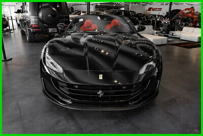 2019 Ferrari Portofino  BLK OVER RED HIDES LOADED WITH OPTIONS IMMACULATE PRICED 4 QUICK SALE!