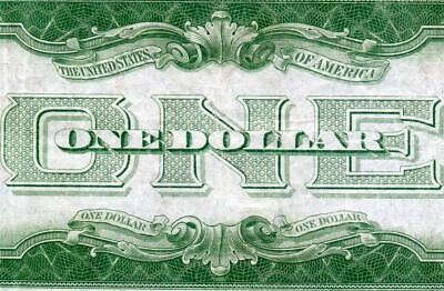 HGR SATURDAY 1928A $1 Silver Certificate (Funny Back) Only LIGHTLY CIRCULATED