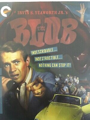 THE BLOB (1958) - BLURAY Excellent Cond! Criterion Collection #91 *Region A*