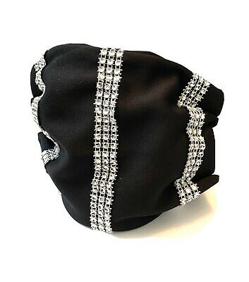 Bedazzled Bling Face Mask With Rhinestone & Filter Women's