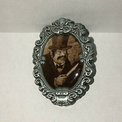 JACK THE RIPPER Haunted Mansion Cameo Portrait Pin UV INK Mystery  Pin 125371
