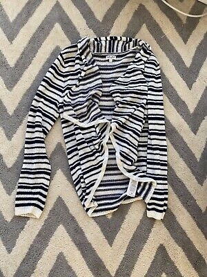 Navy blue and cream sweater with flow sweater splendid girls size 14