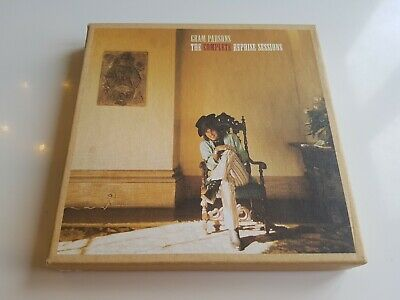 Gram Parsons - The Complete Reprise Sessions 3 x CD Box set NM Remaster Country