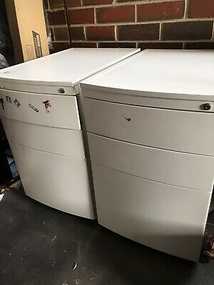 Office Filing Cabinets - Underbench Type 3 Draw