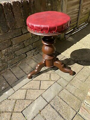 Vintage Stool Piano Or Dressing Table