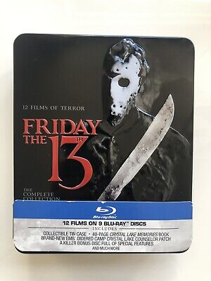 Friday The 13th Complete Bluray Collection [REGION FREE] [RARE]