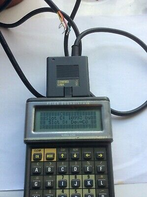 PSION II COMMS LINK WITH LEAD (LZ/LZ64) FOUR LINE VERSION WITH LED. Needs plug!