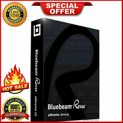 Bluebeam Revu eXtreme 2019 | Full Version Lifetime License - Fast Delivery
