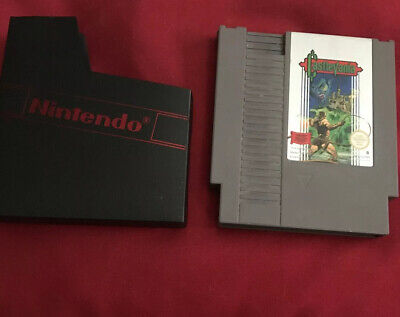 Castlevania ESP PAL B NES (Nintendo Entertainment System, 1987) + Booklet