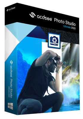 ACDSee Photo Studio Ultimate 2020 Lifetime Activation  Fast Delivery