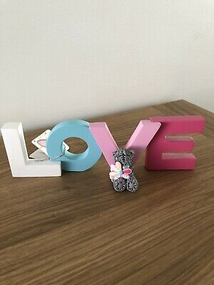Me To You Tatty Teddy LOVE Sign New