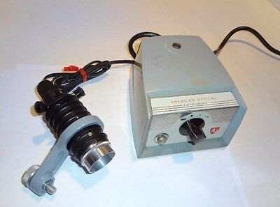 Ao American Optical #341A Vertical Lamphousing Attachment 6V20W **Looks New**
