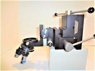 Microscope Probe Inspection Station Positioning Fixture 3 Axis