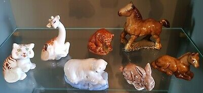 Wade Collectables - Selection Of Seven Vintage Whimsies