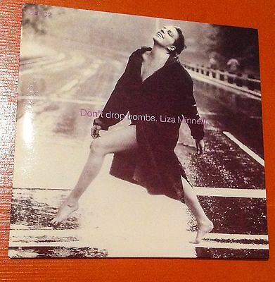 Liza Minnelli +Pet Shop Boys From Results Album Dont Drop Bombs 5 Inch Cd Single