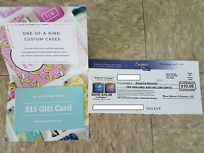 Enspire by enfamil coupon($10) exp.07/31 & $15 gift card-Mycustomcase.com