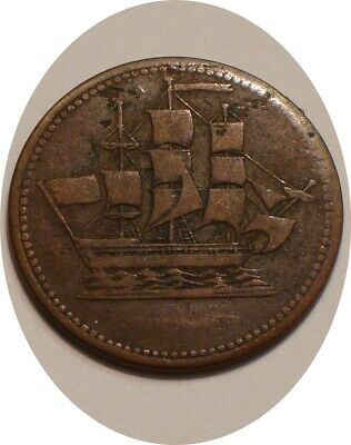 SHIPS, COLONIES & COMMERCE Token of CANADA FULL DETAIL