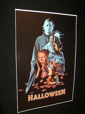 HALLOWEEN Poster movie haunted house horror scary thriller Michael Meyer a