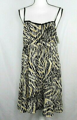 NWT WOMENS Kathryn SUPER SOFT LEOPARD PRINT PAJAMAS Dress Nightgown Gown Sz XL
