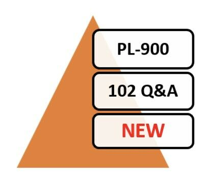 Updated PL-900 Exam 89 Q&A PDF File Only!