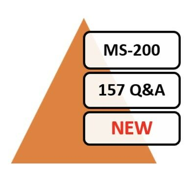 Updated MS-200 Exam 150 Q&A PDF File Only!