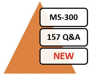 Updated MS-300 Exam 135 Q&A PDF File Only!