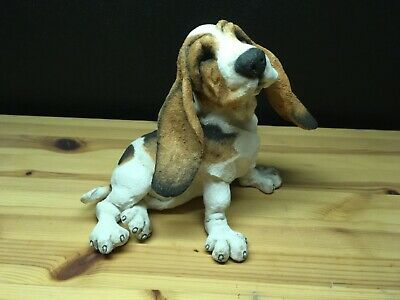 """2003 Country Artists A Breed Apart """"Basset Hound Puppy"""" Dog Figure #70203"""