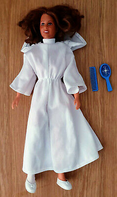 1970s Kenner Star Wars Princess Leia doll figure HTF Hair Brush and Comb