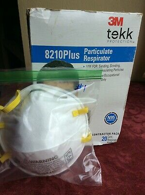 One New FACE RESPIRATOR 3M Brand New Fast Shipping