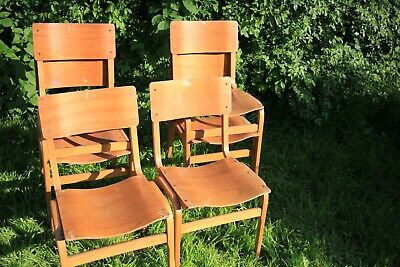 30 Vintage Plywood Chairs by Tecta