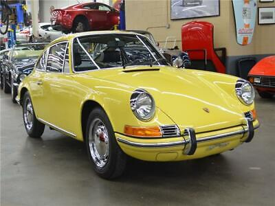 1969 Porsche 912 Coupe 1969 Porsche 912 Coupe Champagne Yellow Coupe,Restored,Matching #'s,Orig Colors