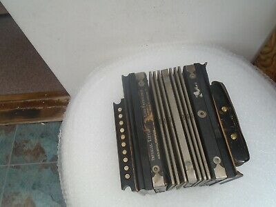 Splendid RARE small German antique accordion IMPERIAL LITTLE LORD FAUNTLEROY