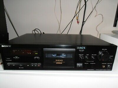 Refurbished Sony TC-K611S 3 head stereo Cassette deck Exc cond c/w instructions