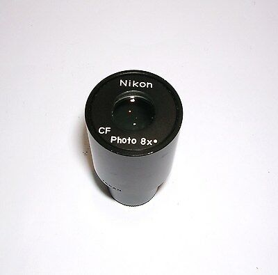 Nikon Cf-8X  Photo Eyepiece Relay Lens