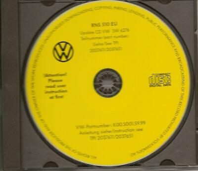VW RNS510 EU Firmware Update 6276 CD Original