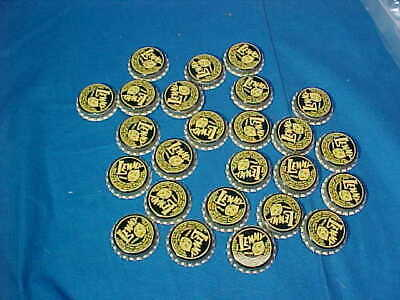 25- Unused 1950s LEMMY SODA BOTTLE CAPS